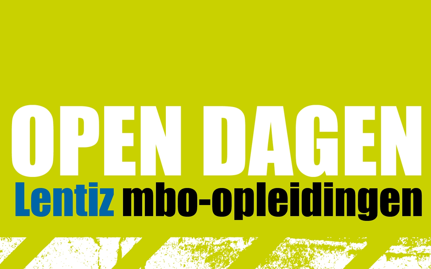 Lentiz Open Dagen advertenties