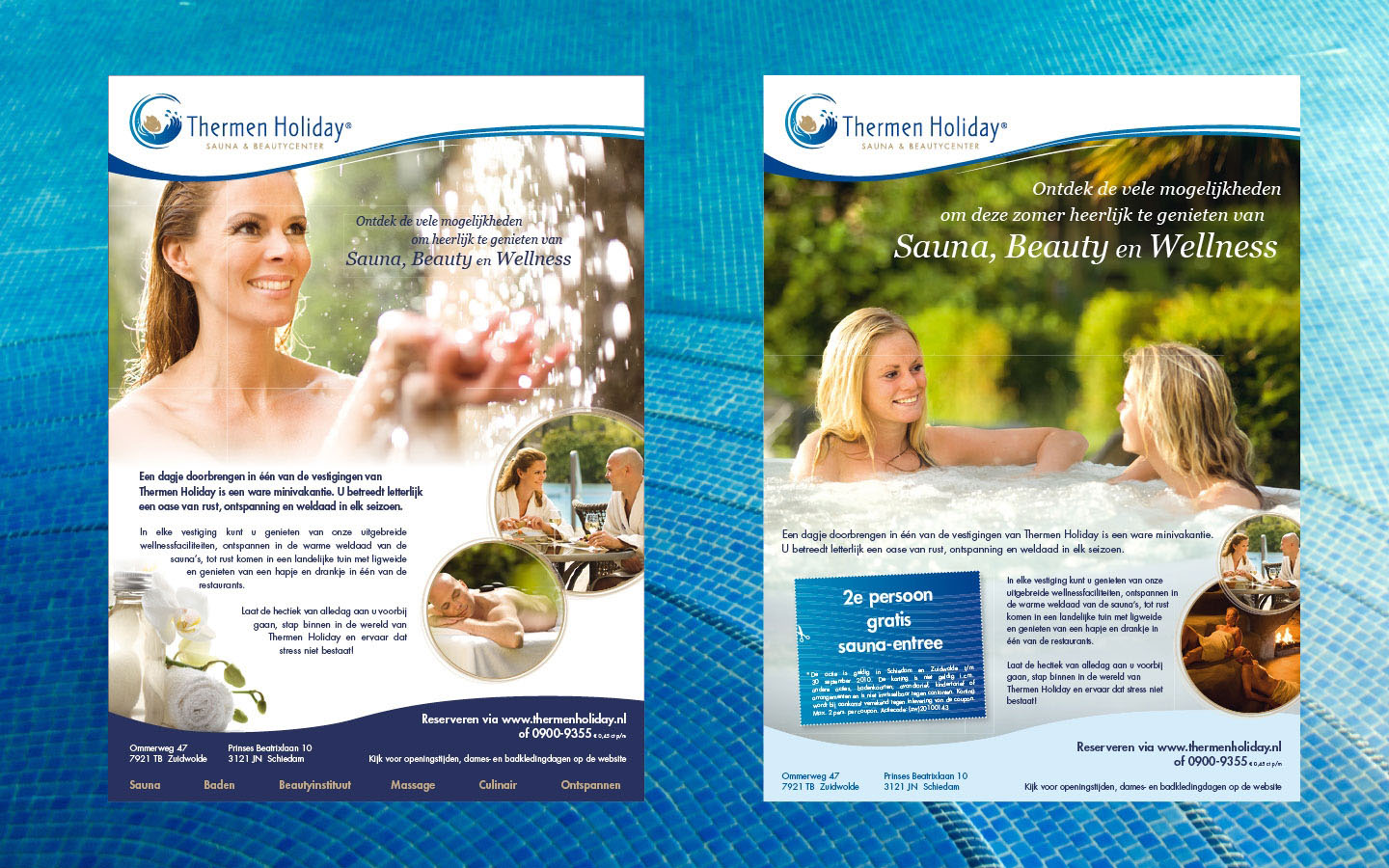 Thermen Holiday advertenties 2010